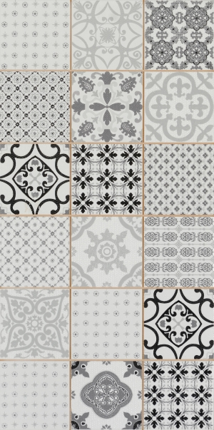 Tezgah Arasi Seramikler 30x60 Zenn Siyah