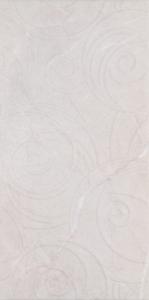 Alanya Gri Fon Dekor  30x60 cm Duvar Seramiği