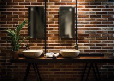Brick Stone Serisi 6×25 cm Duvar ve Yer Seramikleri